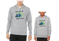 Broadstone Barracudas Hoodie with Full B Logo