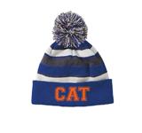 CAT Pom Beanie w/Logo