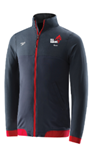CCA Marlins Red Warm-Up Jacket w/Logo