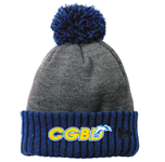 CGBD Cuffed Pom Beanie w/Logo