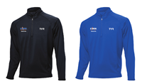 COOL 1/4 Zip Pullover w/Logo