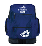 Carrollton Bluefins Spiky 2 Backpack (with logo) - Navy