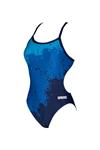 Carrollton Bluefins Female Skimpy Cutout Suit