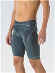 Dolfin Mens LIGHTSTRIKE Silver Tight Leg High Waisted Jammer