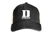 Duke Diving Trucker Hat w/Logo