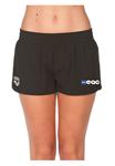 Enfinity Aquatic Club Female Black Short w/Logo