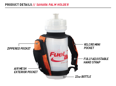 Fuel Belt Sahara 22 oz Palm Holder