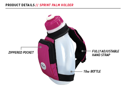 Fuel Belt Sprint 10 oz Palm Holder