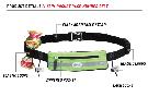 FuelBelt Slim Pocket Race Number Belt