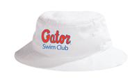 Gator Swim Club Bucket Hat w/Logo