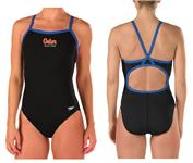 Gator Swim Club Flyback Suit w/Logo
