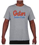 Gator Swim Club Grey Performance T-Shirt