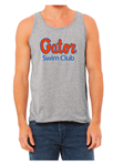 Gator Swim Club Grey Unisex Tank