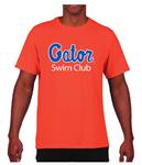 Gator Swim Club Orange Performance T-Shirt