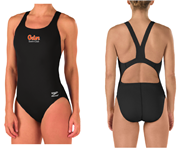 Gator Swim Club Thick Strap Suit w/Logo