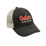 Gator Swim Club Trucker Hat w/Logo