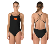 """Hanover """"The One Back"""" Skimpy Thin Strap Suit w/Logo"""