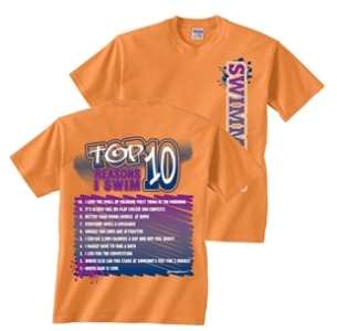 Top 10 Reasons to Swim -- updated 2012