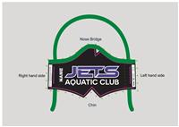 JETS Aquatic Club Tie-Back Mask