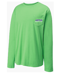 JETS Pigment Dye Speedo LS Shirt w/Logo