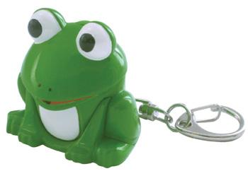 Frog LED Keychain