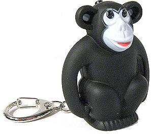 Monkey LED Keychain