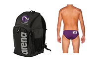 NTA Team Backpack and Brief w/Logo Bundle