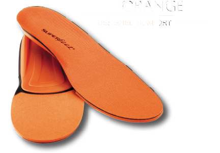 Men's Running Superfeet Orange