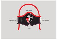 PASA Custom Tie-Back Face Mask