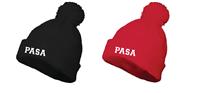 PASA Pom Pom Beanie w/Logo