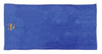 PCST Royal Blue Beach Towel w/Logo