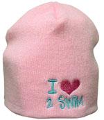 I Love 2 Swim Beanie