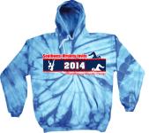 Tie Dye Southwest VA Invite 2014 Hoodie
