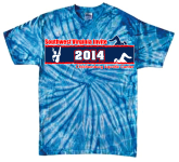 Tie Dye Southwest VA Invite 2014 Shirt