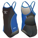 Shades Cliff Swim Team Girls Suit w/Logo