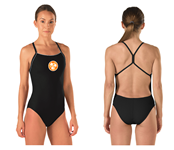 "Skimpy Cutout ""The One"" Back Female Suit w/Logo"