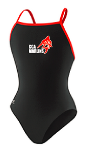 CCA Marlins Female Team Suit with Logo