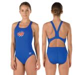 Cleveland Aqua Tigers Female Thickstrap Suit w/Logo
