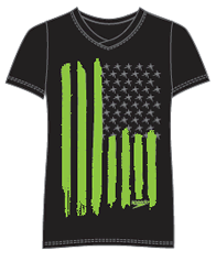 Flag Stripe tee
