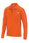 H2okies Team Warmup Jacket -- Streamline Orange w/logo
