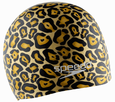 Hydrotribe Animal Print Silicone Swim Cap