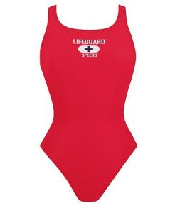 CLEARANCE -- Speedo Lycra Thick Strap One-Piece  Lifeguard Suit