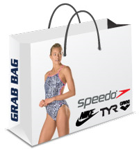 Speedo, Nike, Tyr, Arena or Dolfin Women's Grab Bag