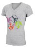 Peace, Love -- female tee