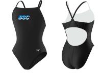 BSC Female Lycra Flyback Team Suit w/Logo