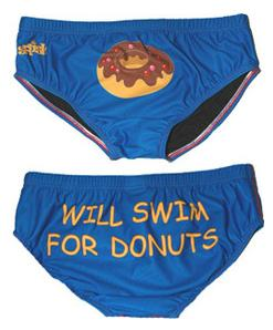Will Swim for Donuts
