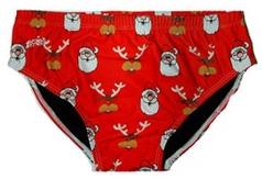 Santa Rudolph Red Brief