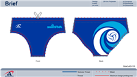 SwimRVA Water Polo Brief