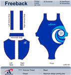 SwimRVA Water Polo Thick Strap Suit
