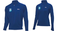 SwimRVA Water Polo 1/4 Zip Pullover w/ Logo